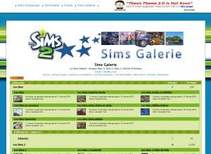 sims galerie